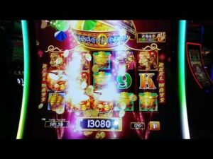 large WIN ON DANCING DRUMS SLOTS AT WINSTAR casino bonus
