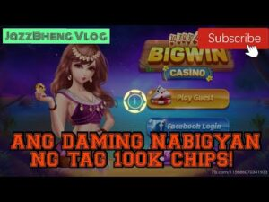 large WIN casino bonus: Ang dami na namang nabigyan ng tag 100K Chips! | JazzBheng Vlog