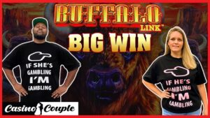 👩🏼🤝👨🏾 novel BUFFALO LINK $5 BET large WINS!!!🤑🤑🤑 casino bonus distich 🎰👩🏼🤝👨🏾