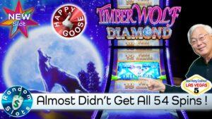 ⭐️ novel 😄 Timber Wolf Diamond Slot Machine large Win Bonus