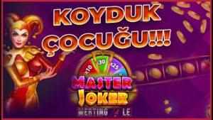 original JOKER Koyduk Çocuğu 🤑🍭200 TL ÇEKİLİŞ VAR💰 Slot Oyunları-Rulet | Büyük Vurgun | large Win