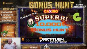 10 000€ Bonus Hunt!! large Wins!! 15 Slot Bonuses!!