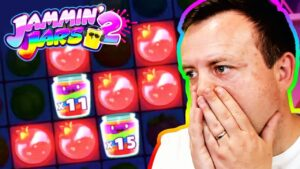 BIGGEST WIN on JAMMIN JARS 2 – CRAZIEST BONUS HUNT RESULTS OPENING (large WINS on HIGH STAKES)