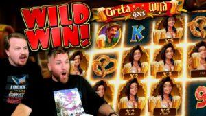 Greta goes WILD! (large Win)