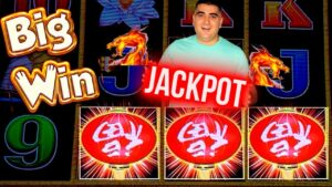 HANDPAY JACKPOT On High bound Dragon Link Slot   How To Win On Slots ?  SE-1  EP-8