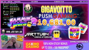 Jammin Win!! Insane Win From Jammin Jars 2 Slot!!