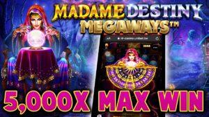 MADAME DESTINY MEGAWAYS 🔮 large WIN!