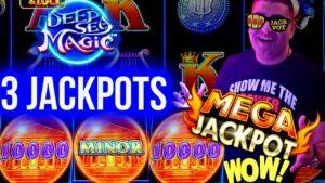 MASSIVE HANDPAY JACKPOT On drib & Lock Slot – $50 MAX BET | Winning Money On Slots