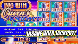 QUEEN'S KNIGHT HIGH boundary MASSIVE JACKPOT WIN ★ large WIN ON total covert OF WILDS! ★