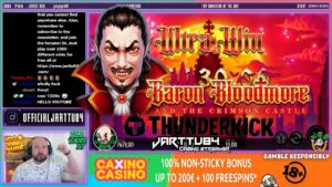 Sick Win From The Baron Bloodmore Slot!!