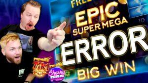 We BROKE this Slot Machine! (large WINS)