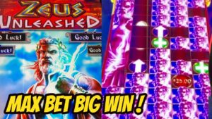 large WIN! Zeus Unleashes the Money! Max Bet