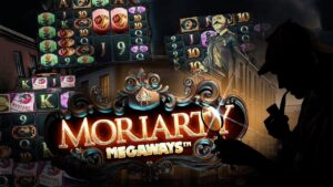 large win on Moriaty Megaways: 5 on 5 at 5!