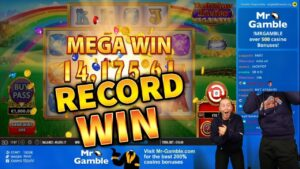 tape WIN! Rainbow Riches Megaways large Win – casino bonus Games from MrGambleSlots Live current