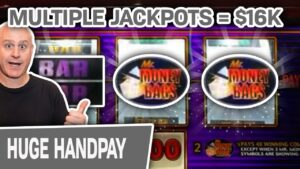 💰 $16,000 From MULTIPLE Jackpots 💯 $100 SPINS For My BIGGEST WINS EVER on Mr. Money Bags