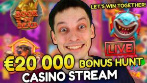 🔥SLOTS LIVE casino bonus flow! – large WINS together with BONUS BUYS with mrBigSpin