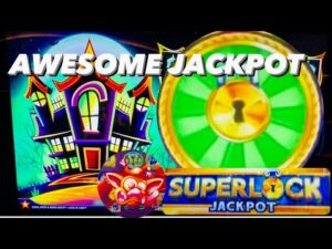HUGE WIN! HANDPAY JACKPOT! HIGH bound CATS HATS together with to a greater extent than BATS & HUFF N PUFF! LOCK IT LINK SLOT!