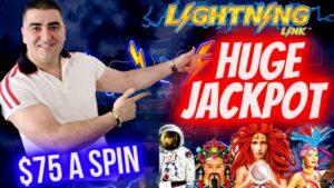 MASSIVE HANDPAY JACKPOT On High bound Lightning Link Slot | Winning Mega Bucks On Slot