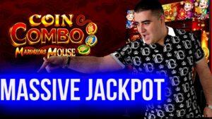 MEGA HANDPAY JACKPOT On novel Slot – $76 MAX BET   money Combo Marvelous Mouse Slot   SE-2   EP-25