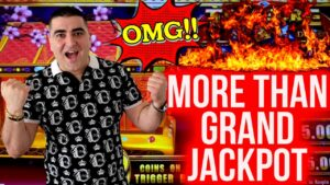 OMG! to a greater extent than Than GRAND JACKPOT😱 ! Massive Handpay Jackpot On High bound Treasure Box