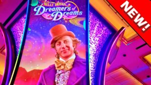 THE novel WILLY WONKA!!! * WILLY WONKA DREAMERS OF DREAMS!! – Las Vegas casino bonus Slot Machine Bonus