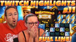 TWITCH HIGHLIGHTS #11 – total LINE MERLIN! SUPER large WIN ON TIZON!