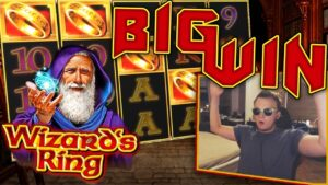 large WIN on Novomatic Wizards band!