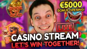 🔥SLOTS LIVE casino bonus flow! – large WINS as well as BONUS BUYS with mrBigSpin