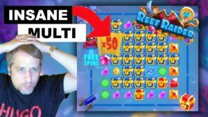 🔥 50X MULTI 🔥 | Reef Raider casino bonus large Win Freespins Bonus existent Money Twitch Livestream Gambling