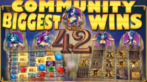 CasinoGrounds Community Biggest Wins #42 / 2017