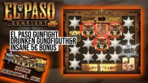⭐ DRUNKEN SPINS!! ⭐   El Paso Gunfight Freespins Bonus casino bonus large Win Nolimit metropolis