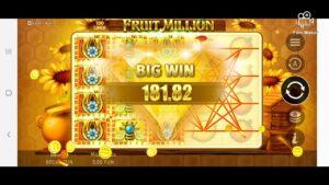 Forzza casino bonus FRUIT 1000000 large WIN NICE WIN  BONUS
