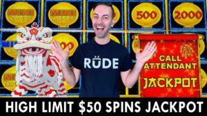 HIGH bound JACKPOT ⚡ $50 Spins Strike A Lighting Cash WIN ⚡