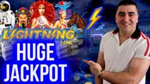High boundary Lightning Link Slot large HANDPAY JACKPOT   Las Vegas Casinos JACKPOT   SE-3   EP-20