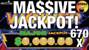 MAJOR JACKPOT! 670 X MY BET! 🏆 Best Bet 🏆 Lightning Cash upwards to $25 BET$ – High bound Slot Epic Win!🎰