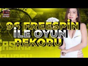 casino bonus | 96 Freespin 80K Ödeme Yeni Oyun Yeni Rekor !?! #bigwin #slot#casino bonus