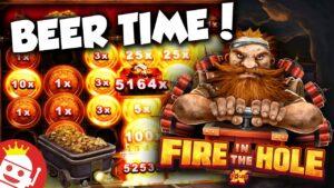 flaming inwards THE HOLE 🍺 MASSIVE 60,000x MAX WIN!