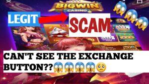 win large casino bonus tin't consider the exchange clitoris?scam or legit??