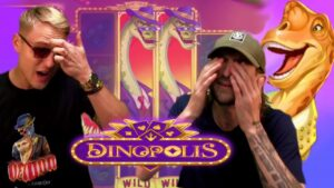 🔥 GIGANTIC large WIN ON DINOPOLIS SLOT past times ANTE as well as JESUS 🔥