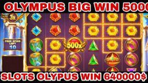 OLYMPUS large WIN 5000X casino bonus SLOTS