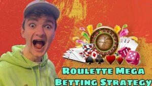 Roulette Mega Winning Strategy🤑 | Roulette strategy to win | Roulette large win | Roulette