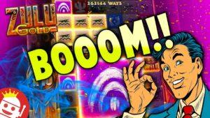 ZULU atomic number 79 😱😱 INSANE large WIN!