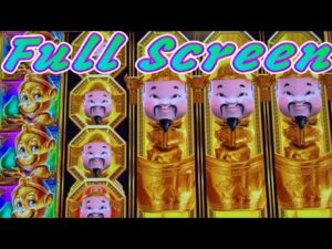 ★SUPER large WIN ! FINALLY GOT A total covert !!★ROYAL MONKEY (Aristocrat) Slot☆$110 liberate Play☆栗スロ