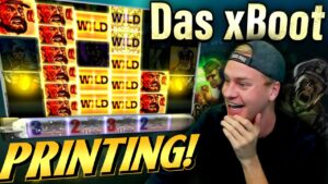 Das xBoot is a PRINTING MACHINE! – Mega large Win
