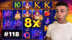 HIGH ROLL Madame Destiny Megaways BONUS, GREAT WIN on Coywolf Cash – AyeZee current Highlights #118