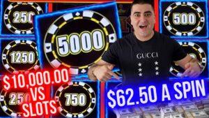 High bound Lightning Link Slot Machine BONUSES & JACKPOT ! $10,000 vs Slot Machines