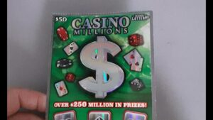 large WIN💰💰💰5X 2X JACKPOT together with casino bonus Millionaire Texas Lottery Scratch Offs Tickets