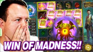 """""""BIGGEST WIN I EVER HAD ON THIS!"""" INSANE large WIN on ____ SLOT"""