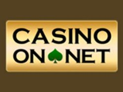 """Casino On Net"" ekrane"