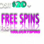 100 lucky spins